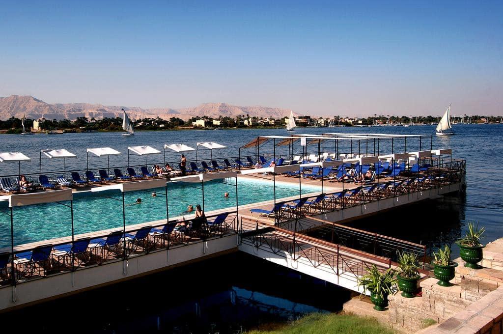 Hoteis no Rio Nilo