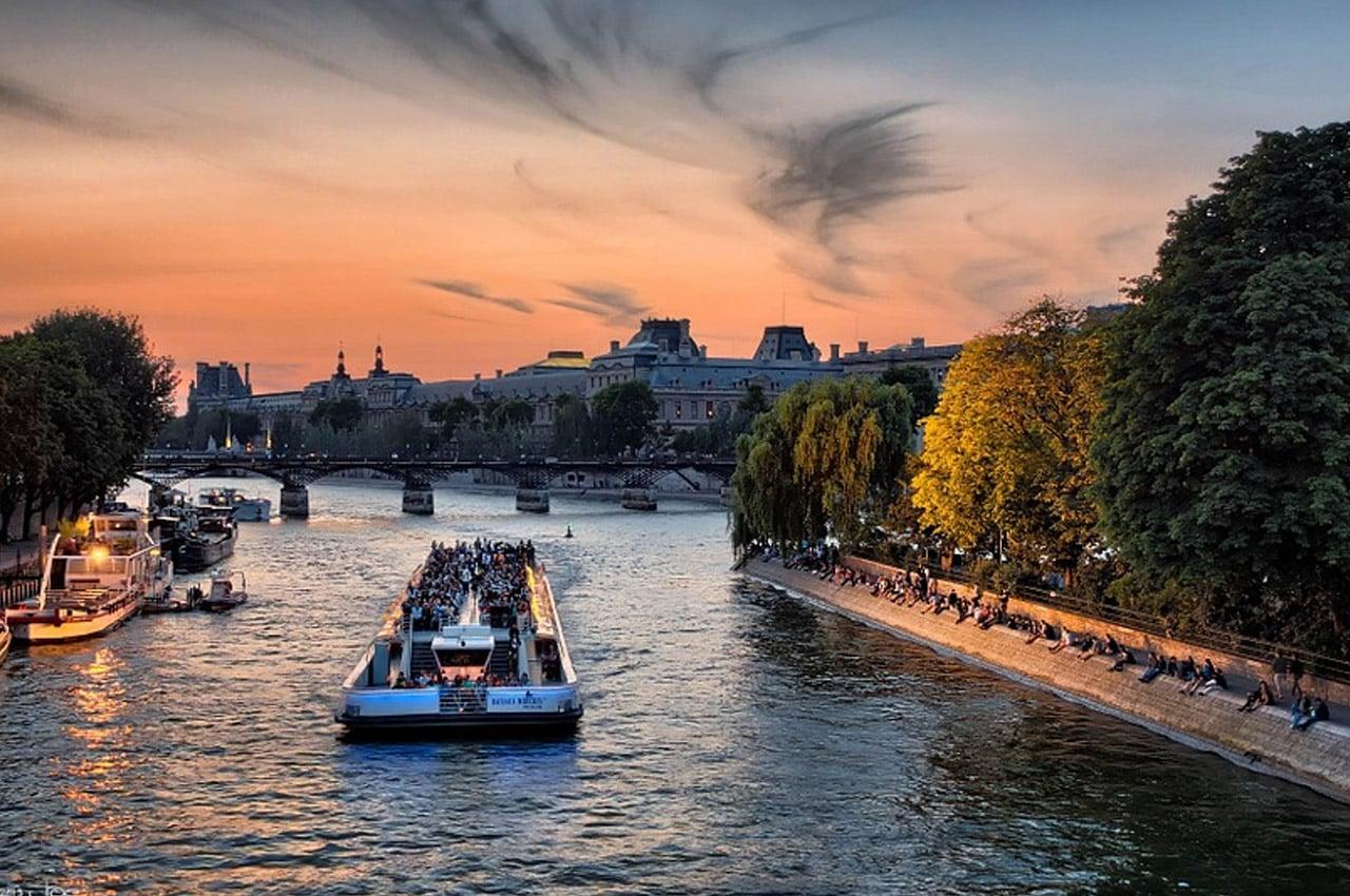 fotos de paisagens naturais por do sol em paris