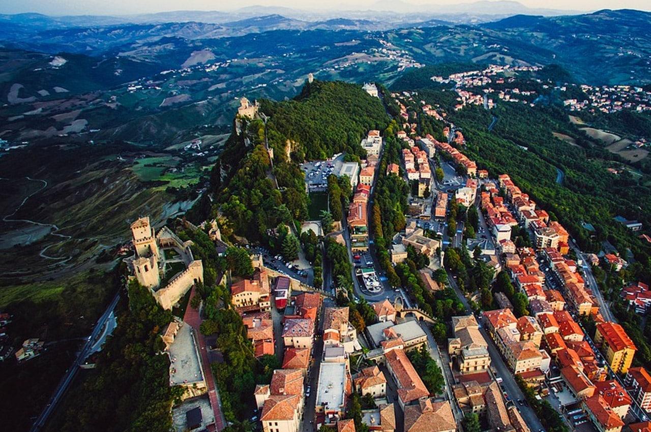 San Marino pontos turísticos
