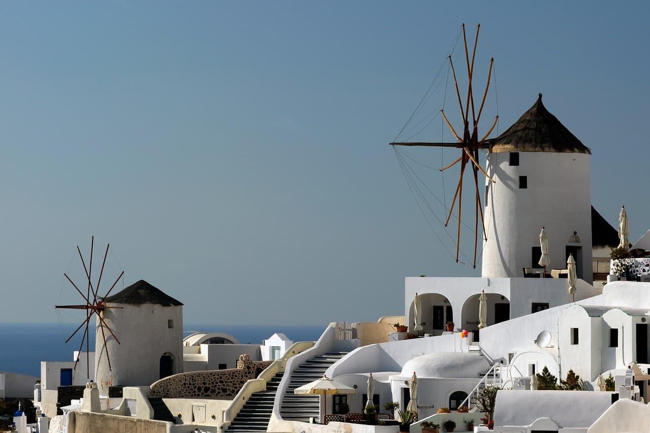 paisagens da grecia