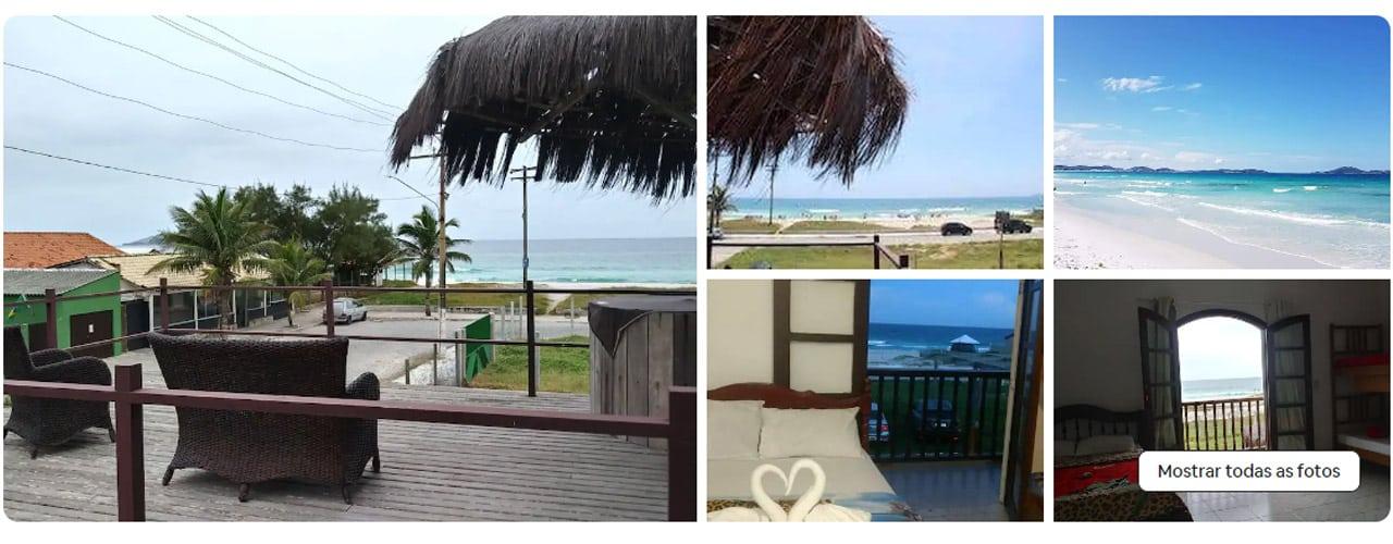 airbnb em Cabo Frio praia do foguete