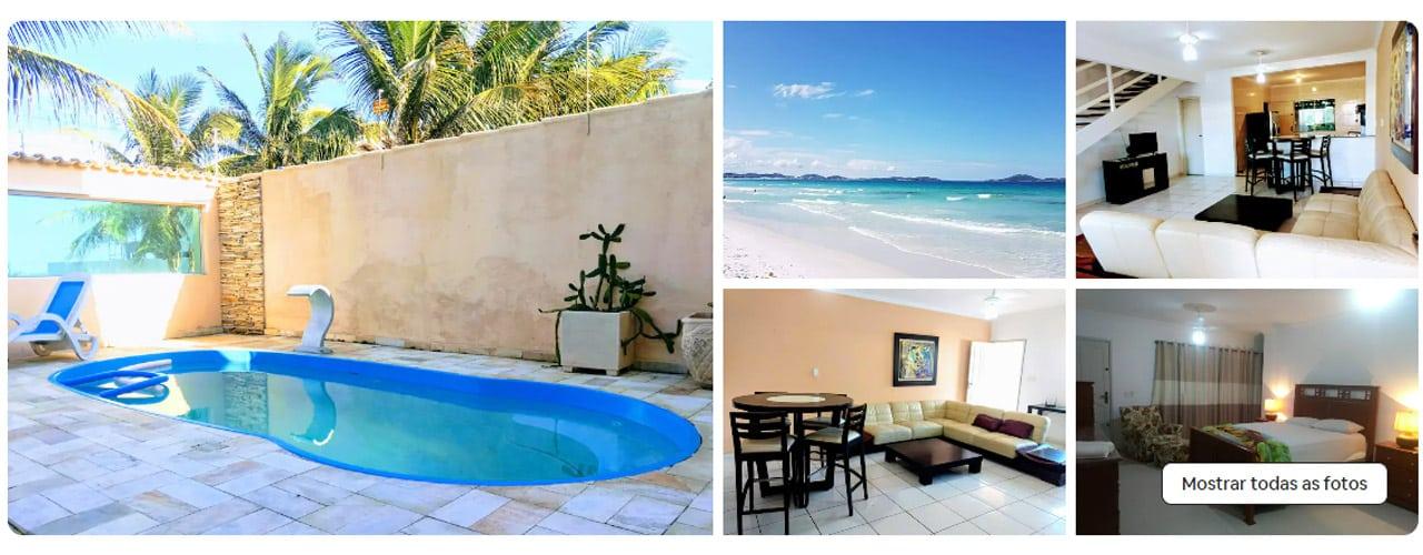 airbnb Cabo Frio praia do foguete