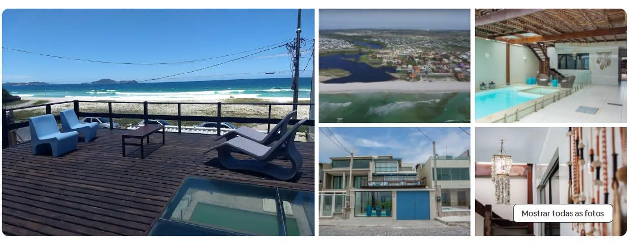 Casas para alugar na Praia do Foguete