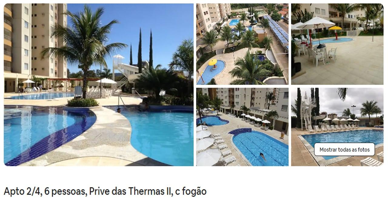 Airbnb Caldas Novas com piscina
