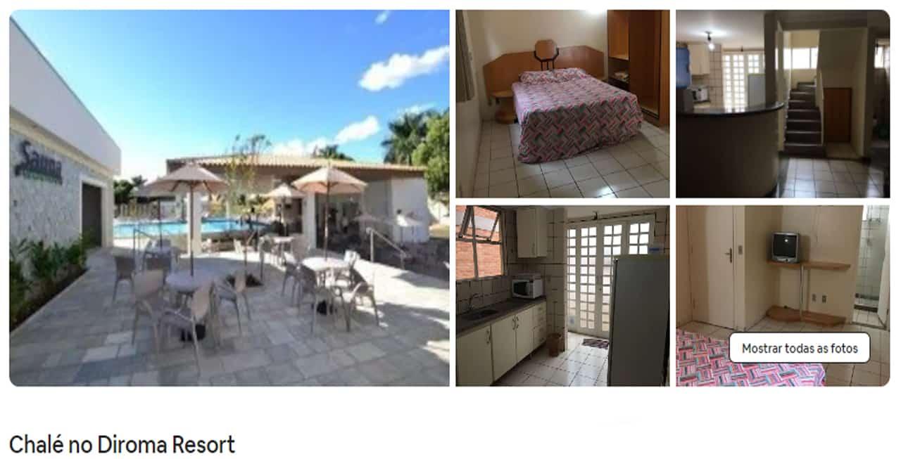Airbnb Caldas Novas hoteis