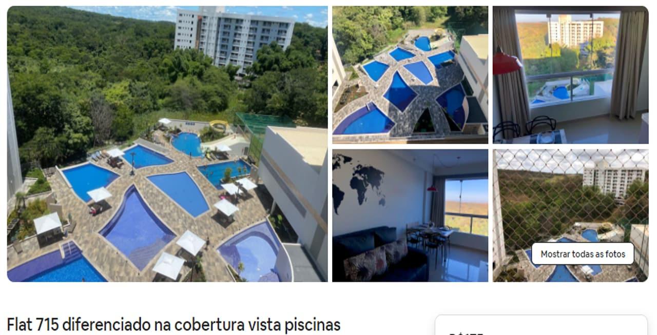 Airbnb Caldas Novas bem localizado