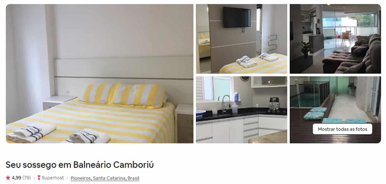 airbnb Balneario Camboriu casa