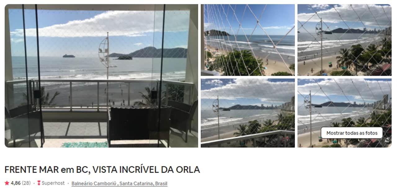 Airbnb Balneário Camboriú Avenida Atlantica