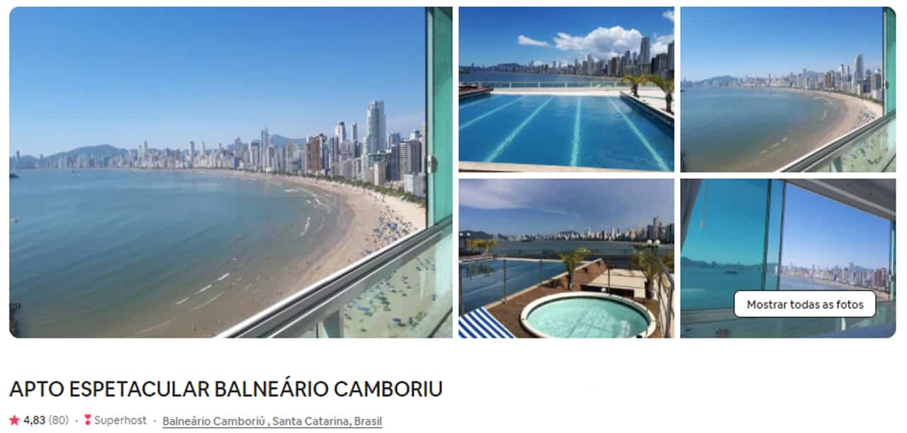 Airbnb Balneário Camboriú