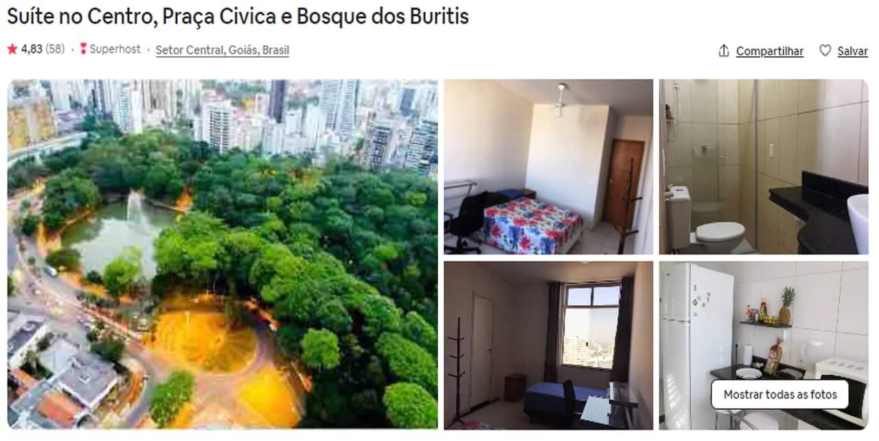 Airbnb Goiânia campinas