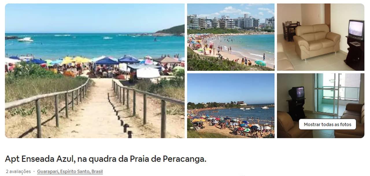 Airbnb Guarapari Praia de Peracanga