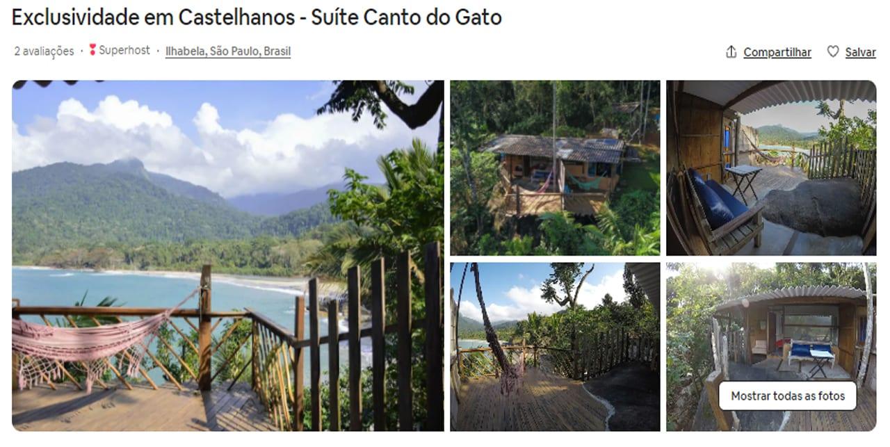 Airbnb Ilhabela castelhanos
