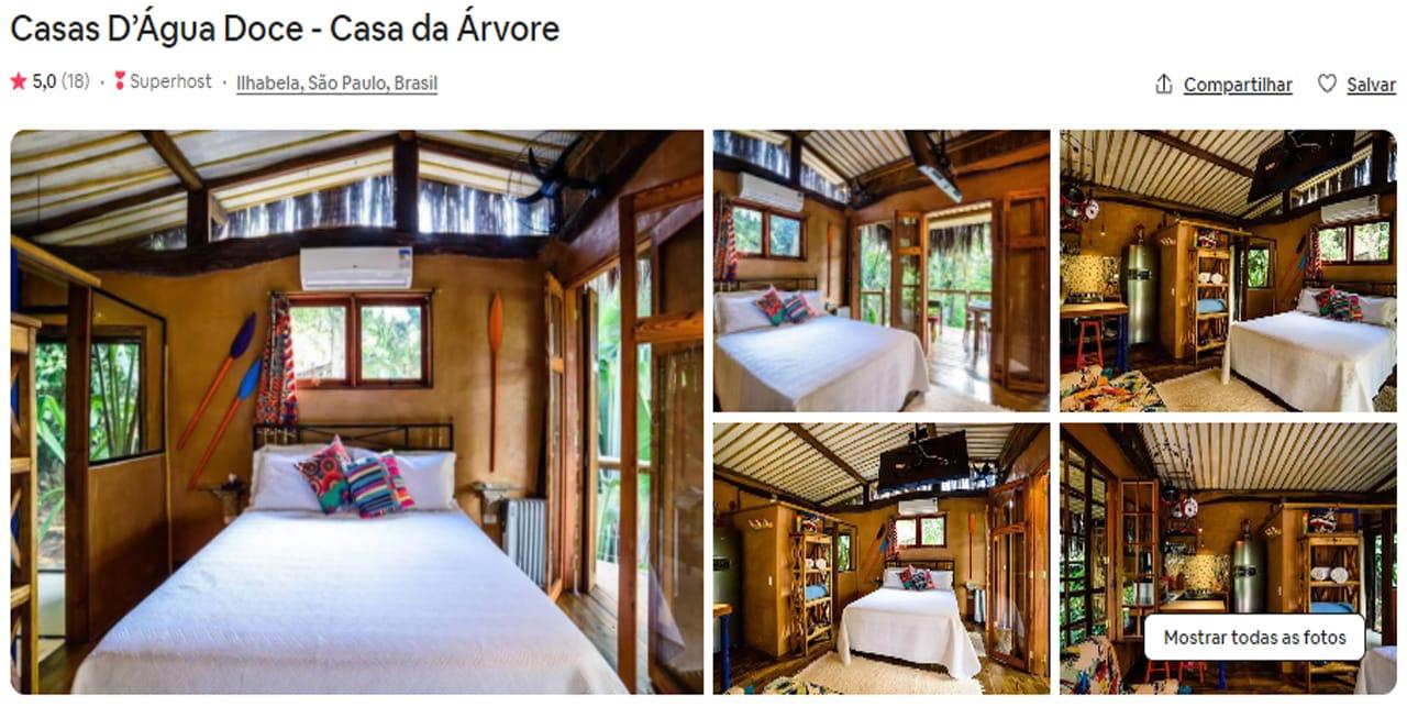Airbnb Ilhabela barato