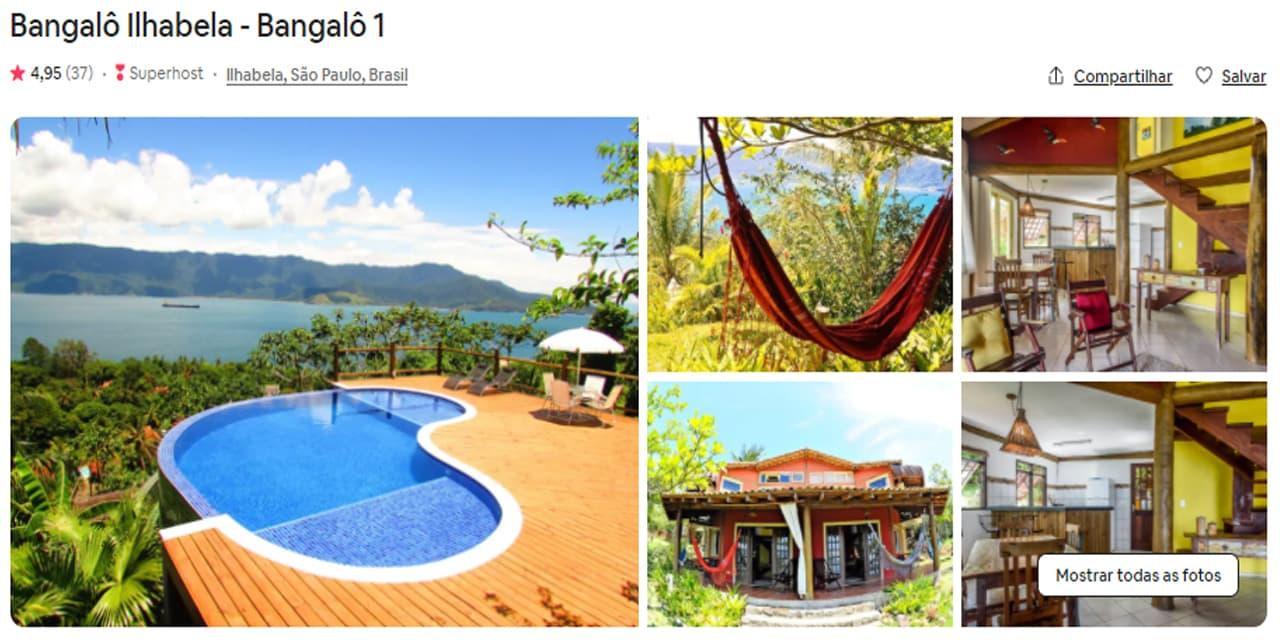 Airbnb Ilhabela bangalo