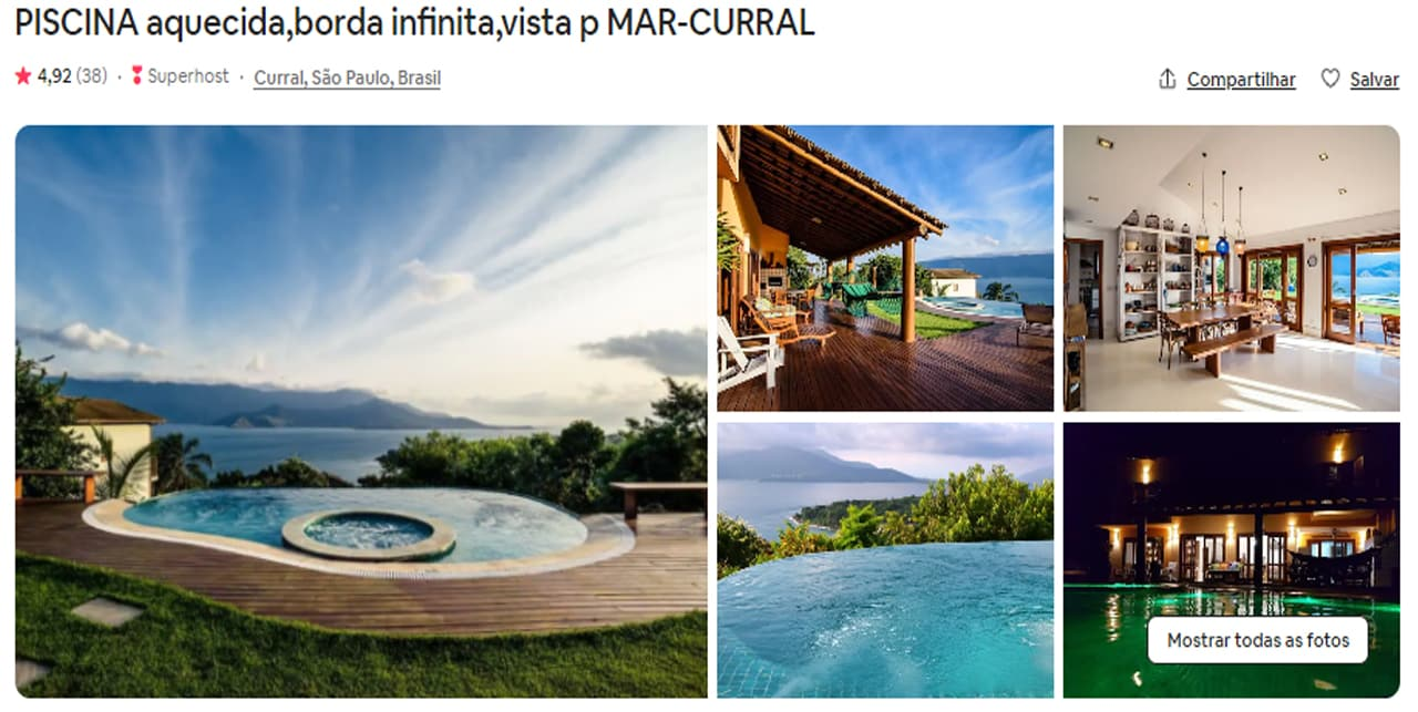 Airbnb Ilhabela centro historico