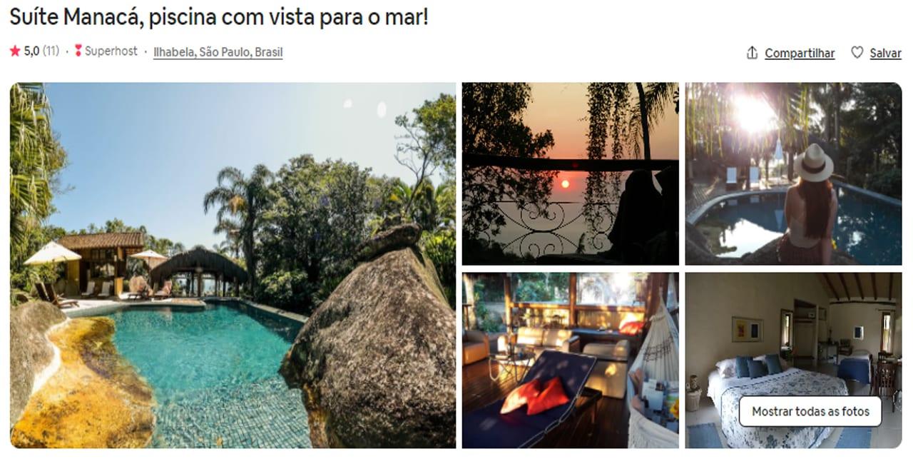 Airbnb Ilhabela 5 estrelas