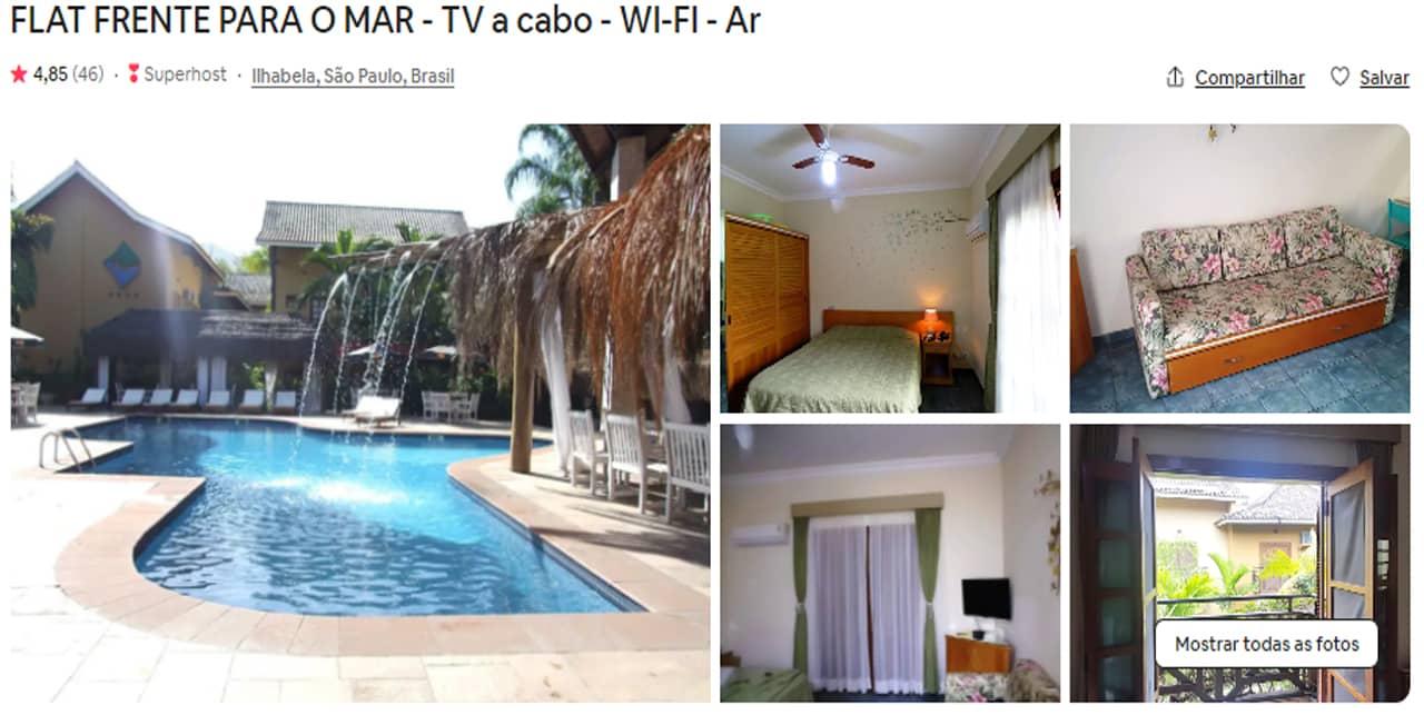 Airbnb Ilhabela pereque
