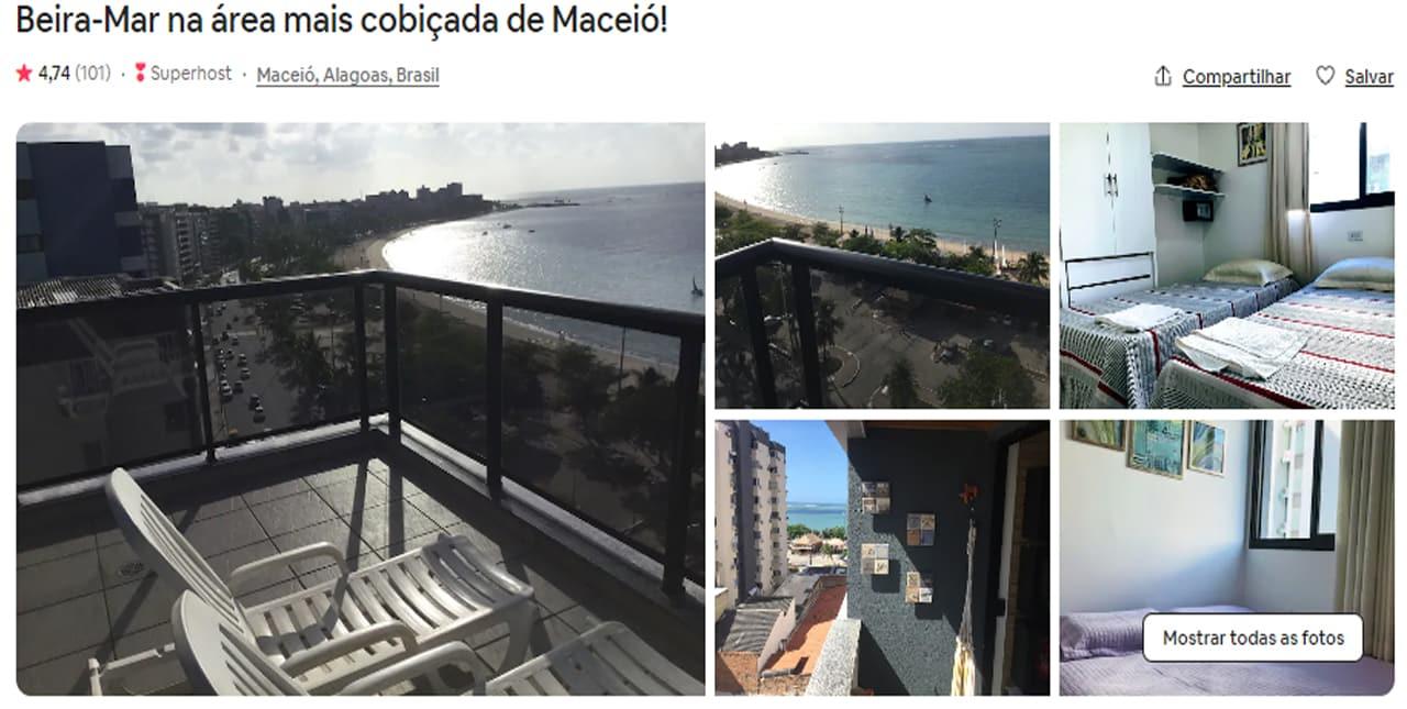 Airbnb Maceió flat