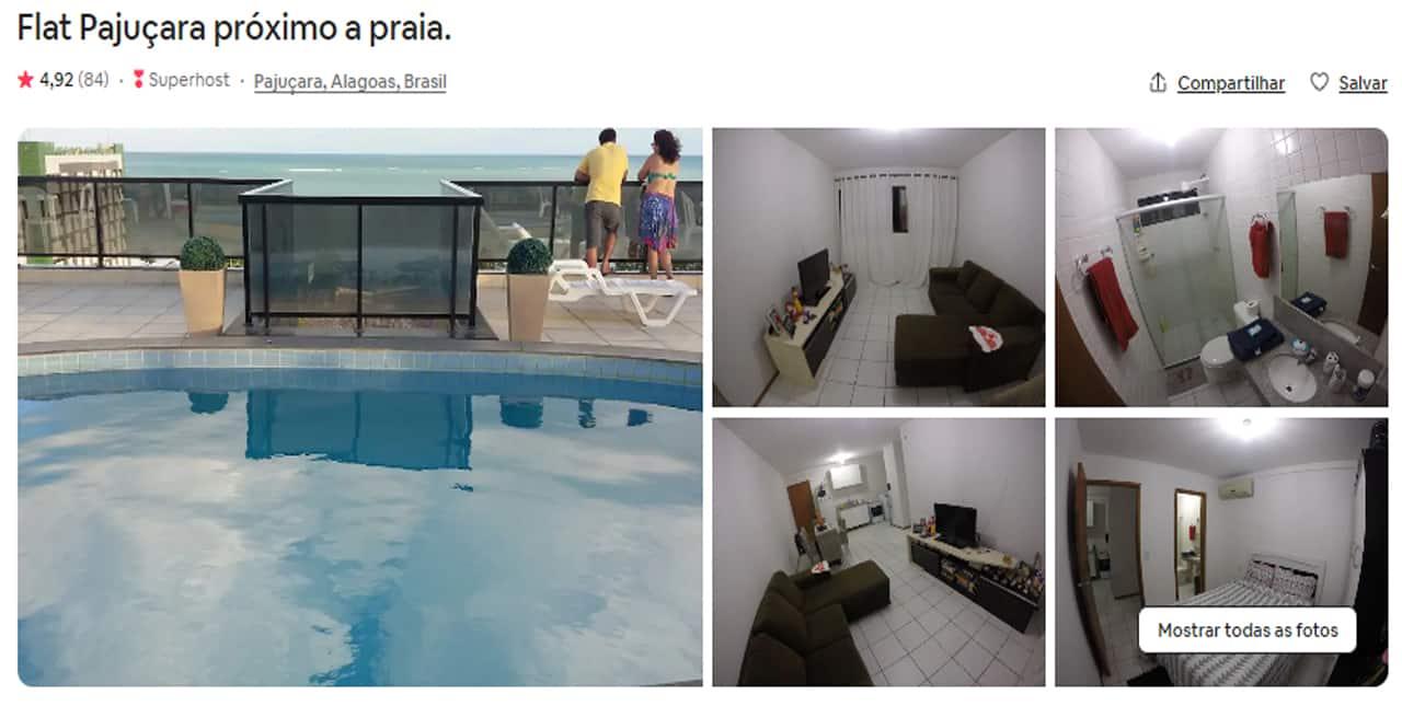 Airbnb Maceió pajucara