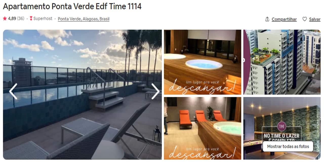 Airbnb Maceió praia do frances
