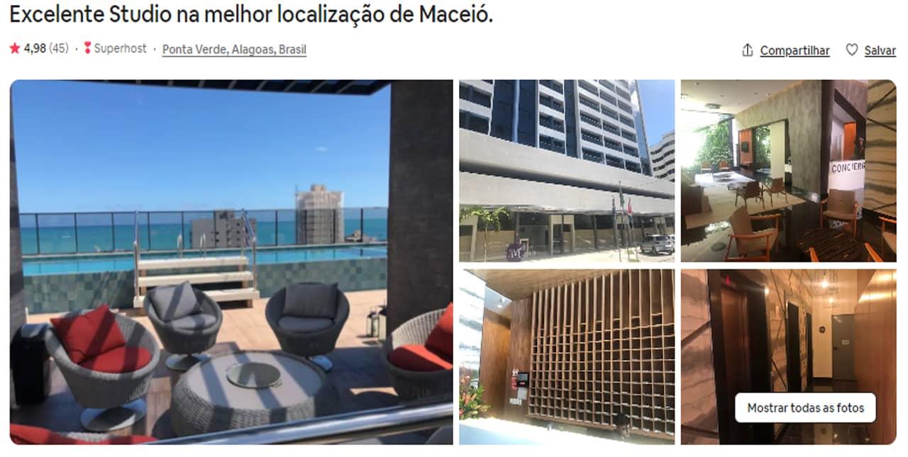 Airbnb Maceió maragogi