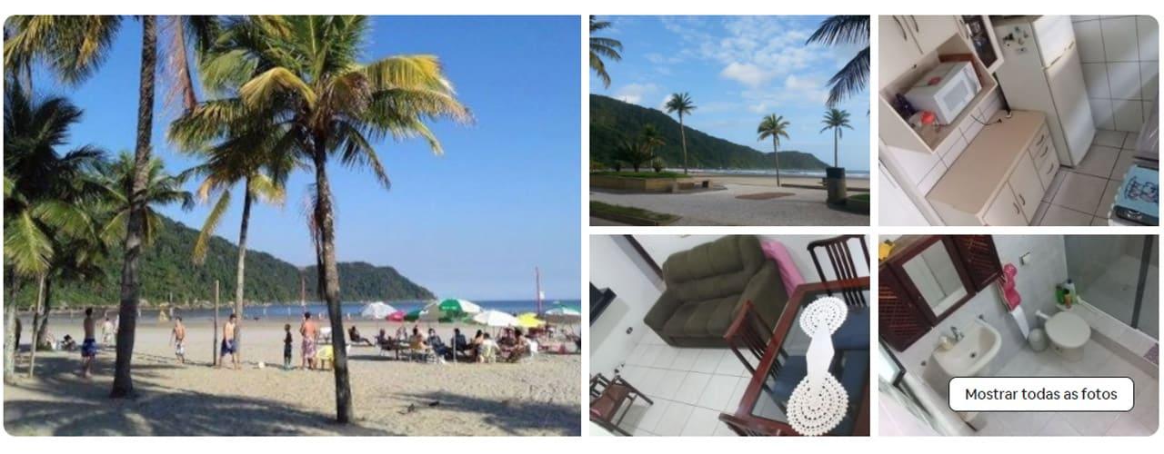 airbnb praia grande canto do forte
