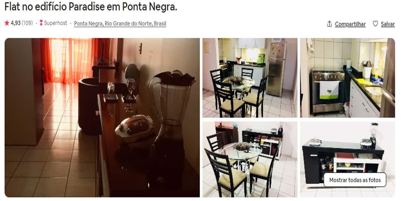 Airbnb Natal lagoa nova