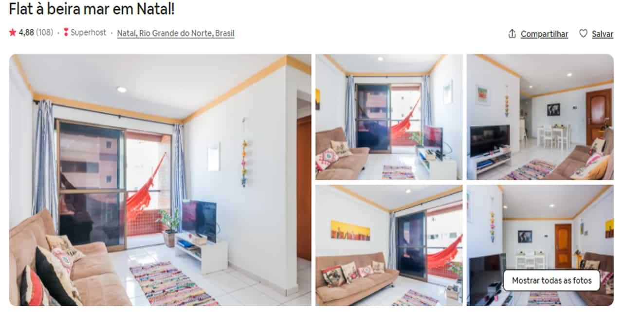 Airbnb Natal morro do careca
