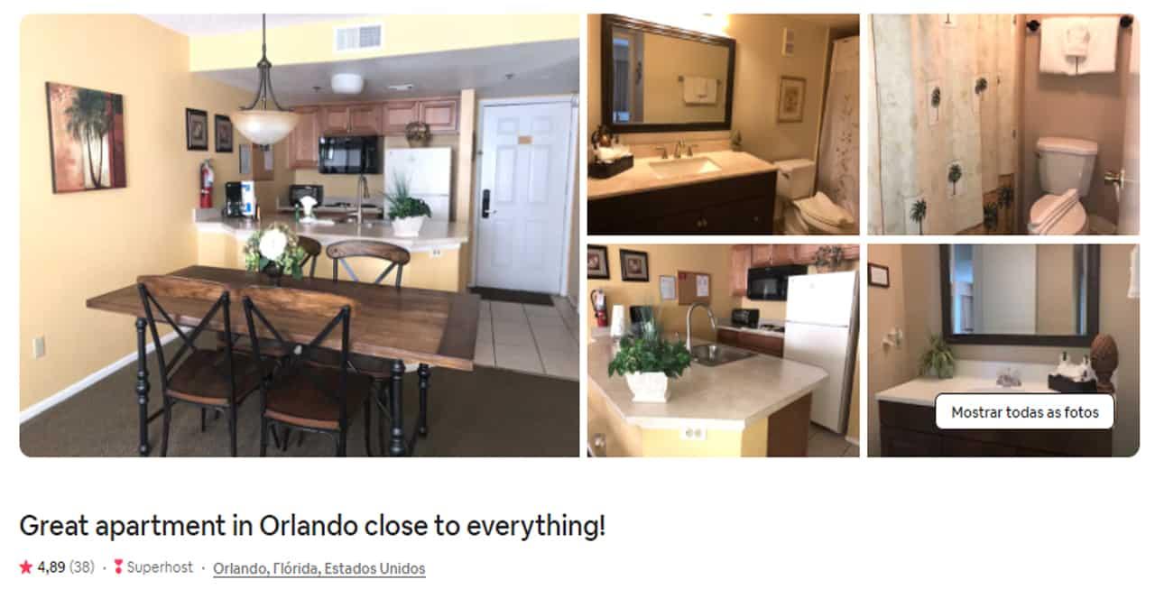 Airbnb Orlando loft