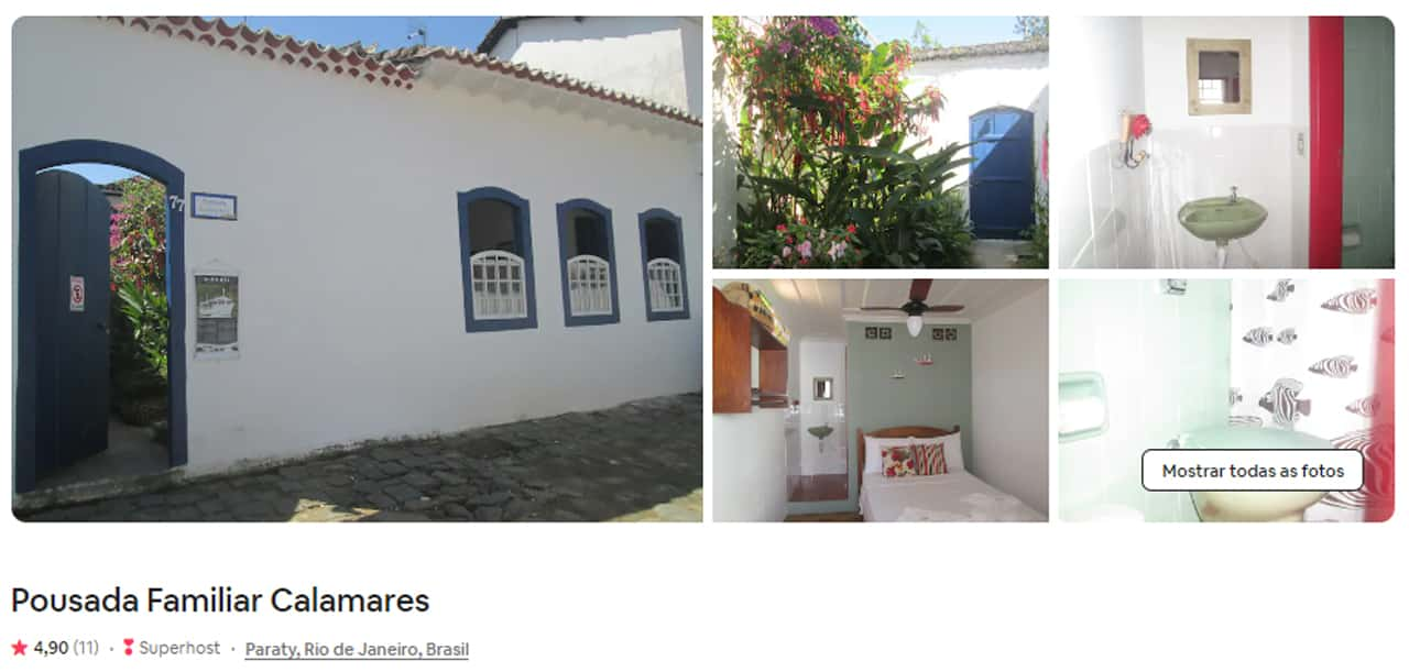 booking Paraty
