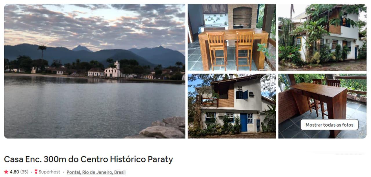 dicas de Airbnb Paraty