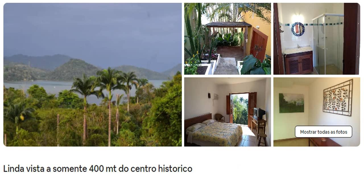 Airbnb Paraty hoteis