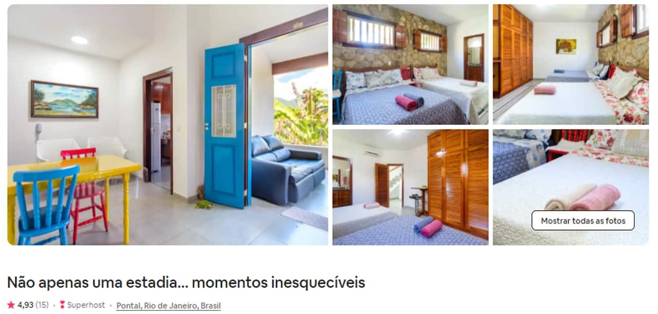 Airbnb Paraty pontal