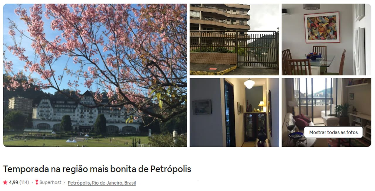 dicas de Airbnb Petrópolis