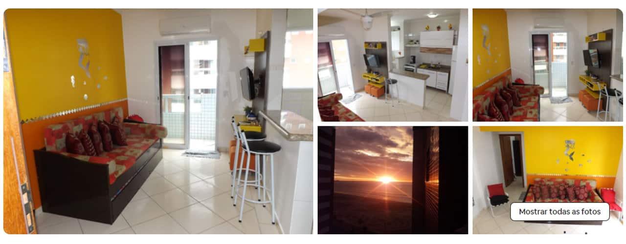 airbnb Praia Grande Maracanã
