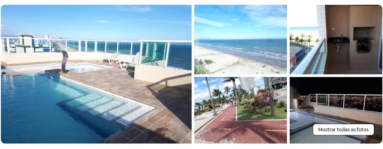 airbnb na Praia Grande Maracanã