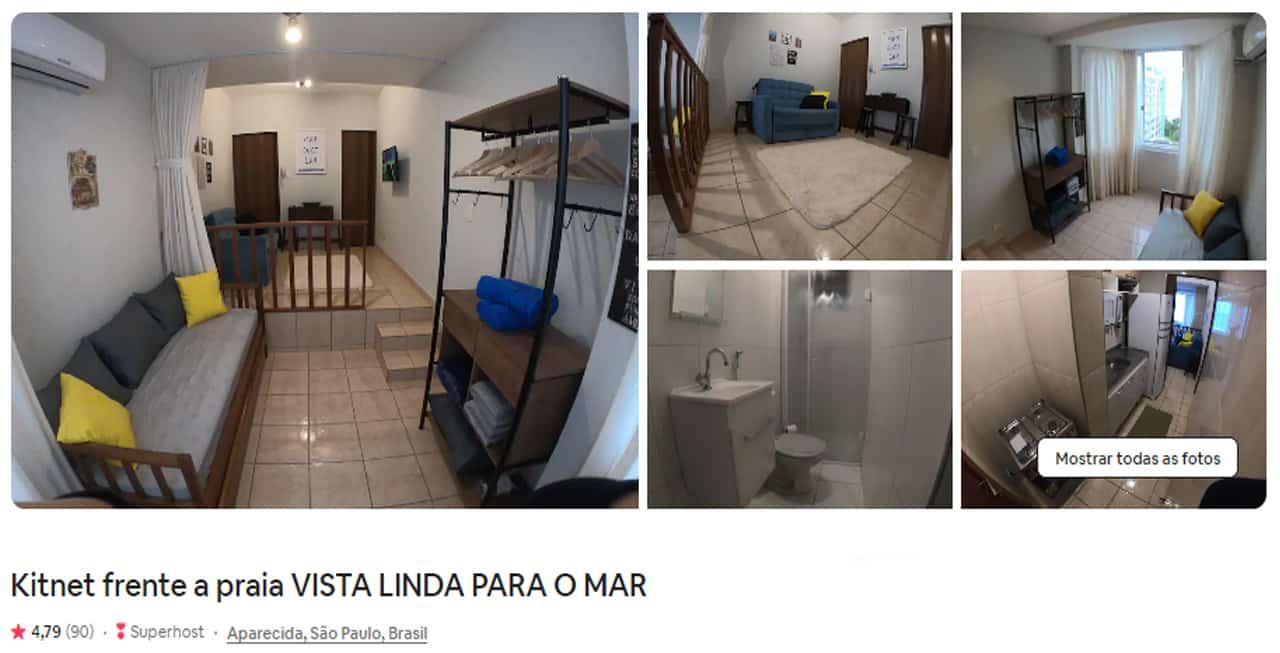 Airbnb Santos embare