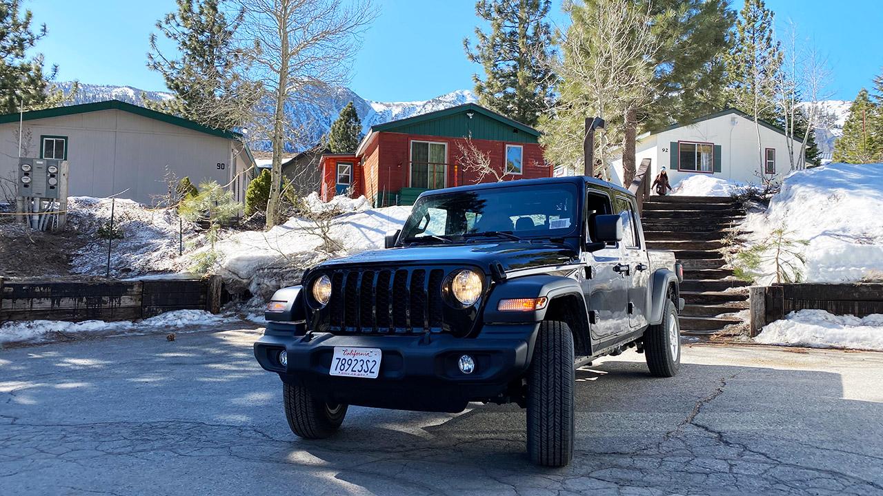 Alugar carro em Mammoth Lakes