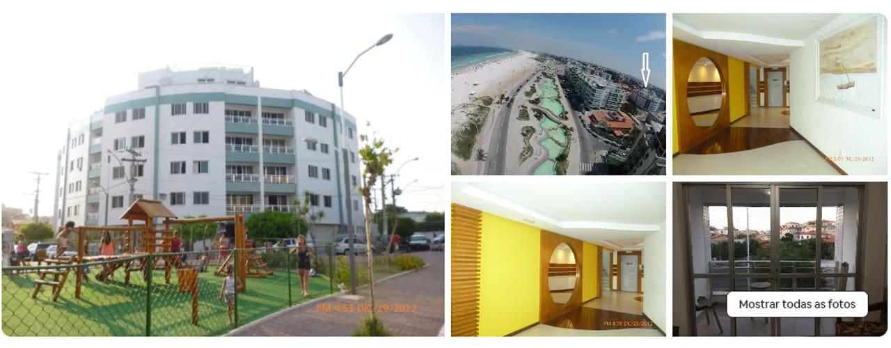 Apartamento para alugar na Praia do Forte