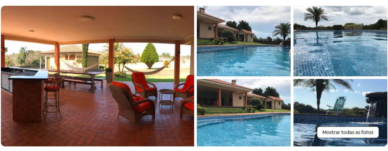 airbnb Foz do Iguaçu com piscina