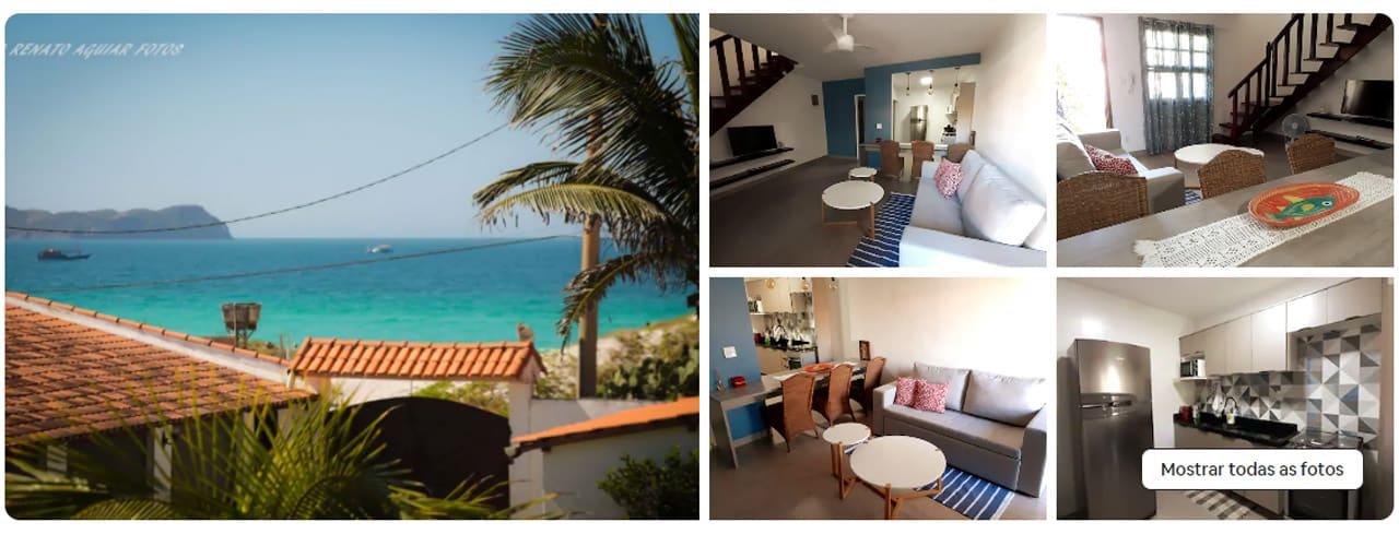 airbnb Cabo Frio praia das dunas