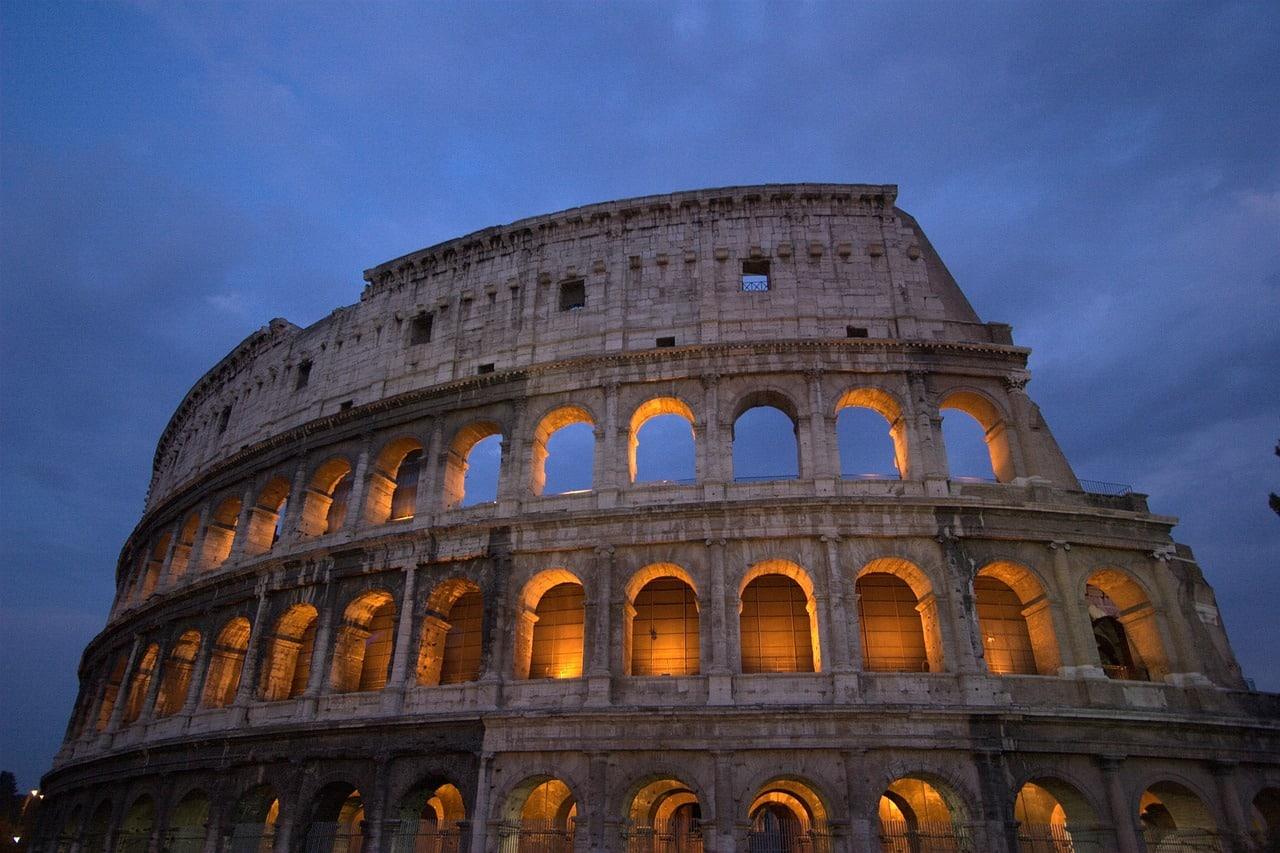 pontos de interesse em roma
