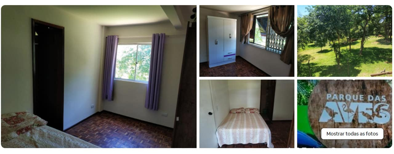 quarto privado Foz do Iguaçu