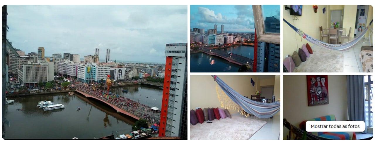 Recife onde ficar Airbnb