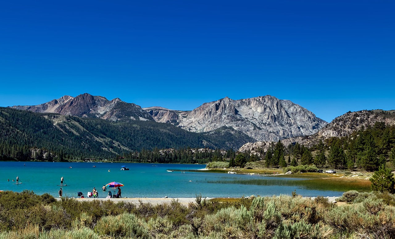 June Lake, na Califórnia