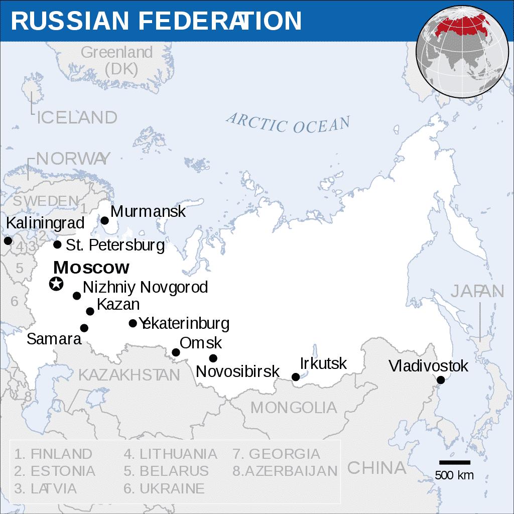 turismo na russia