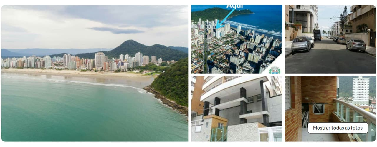 Airbnb na Praia Grande Canto do Forte