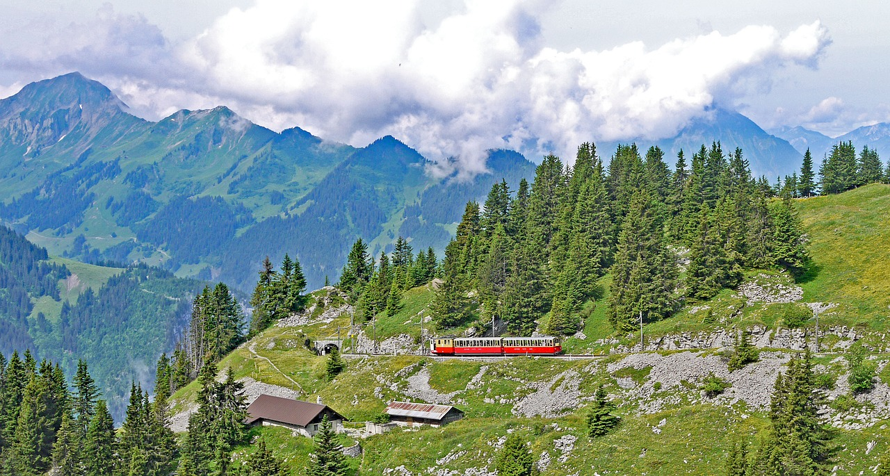 locomoção na suiça
