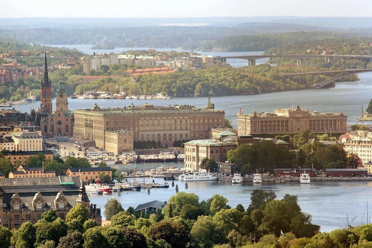 Viajar para Suécia