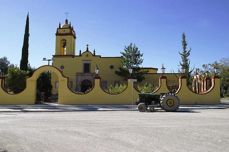 Localização dos Pueblos Mágicos no México